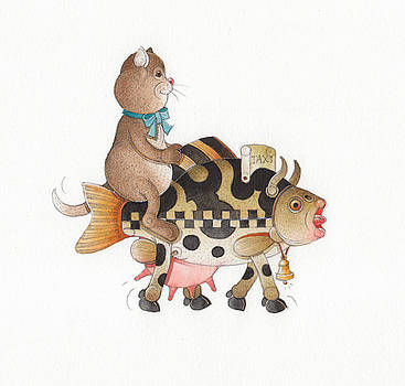 Lazy Cats12 by Kestutis Kasparavicius