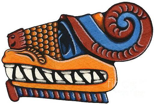 Le Serpent - Quetzalcoatl by Nora Blansett