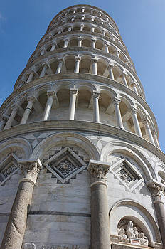 Leaning Tower in Pisa angle shot by Kiril Stanchev