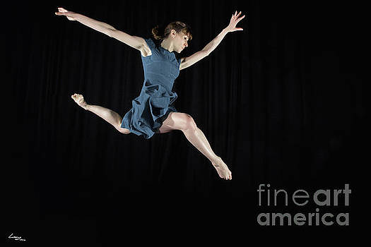 Leaping Ballerina by T Lang