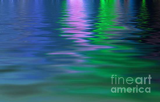 Light reflecting on water  by Cheryl Casey