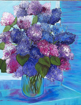Lilac Morning by Norma Tolliver