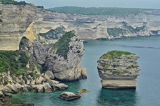Limestone Sea Cliffs On The Island by Kike Calvo