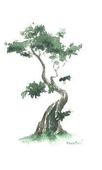 Little Zen Tree 632 by Sean Seal