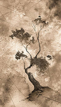 Little Zen Tree 873 Altered by Sean Seal