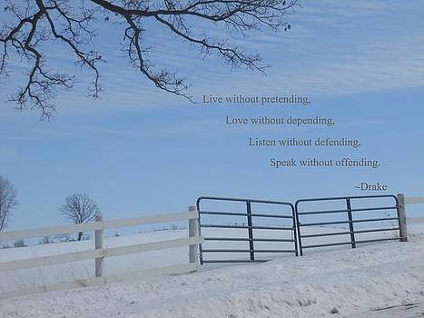 Live Without Pretending by Coleen Harty