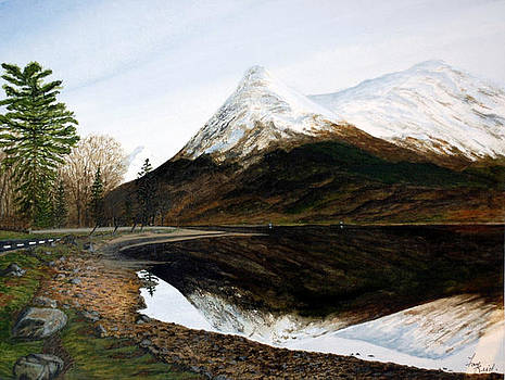 Lochleven Reflections by Fay Reid