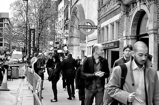 London Street Scene by Andres LaBrada