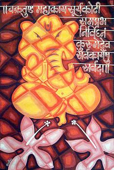 Lord Ganesh02 by Sudhir Deshpande
