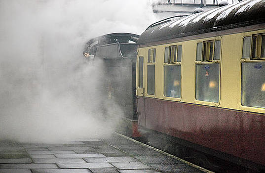 Loughborough Steam by David Davies