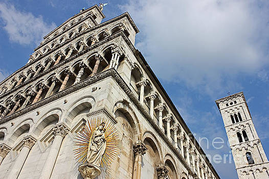Lucca Basilica San Michele in Foro  by Kiril Stanchev