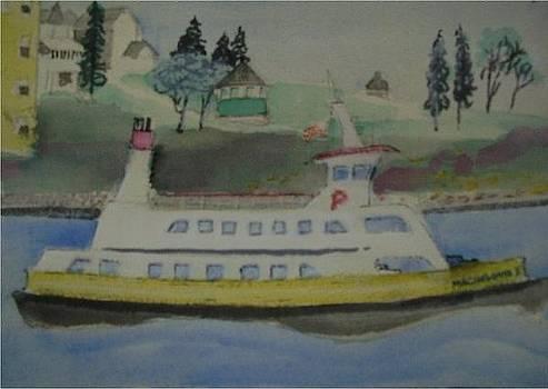 Machagone Ferry by Catherine Worthley