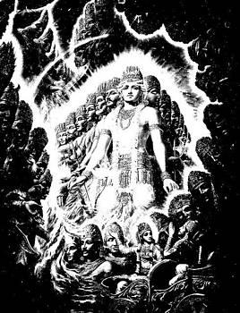Maha Vishnu by Pankaj Jain