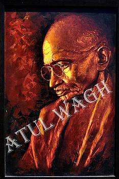 Mahatma  by Atul Wagh
