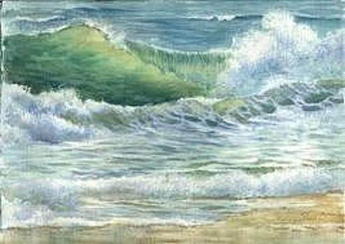 Malibu Waves by Ally Keller