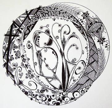 Mandala #1 by Lori Thompson