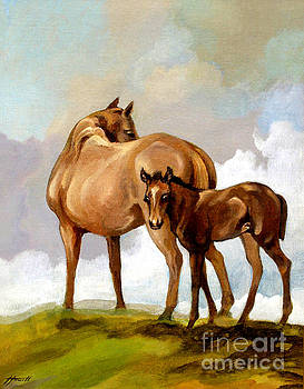 Mare and Foal by Patricia Howitt