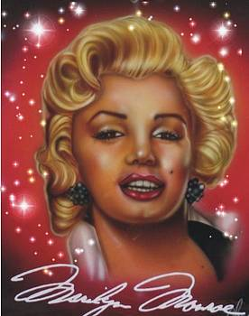 Marlyn Monroe by Christopher Fresquez
