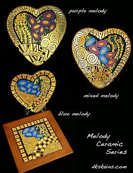 Melody Series by Dorinda K Skains