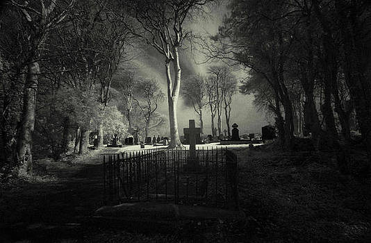 Menlo Cemetery by Peter Skelton