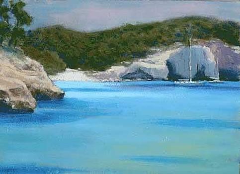 Menorca Cala by Ally Keller