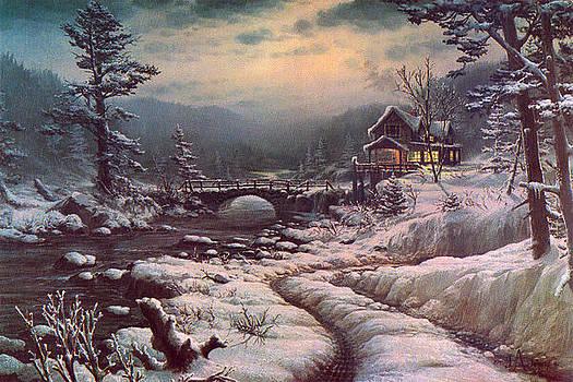 Mid-Winter Daydream by Loren Adams