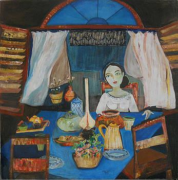 Mientras espero by Sandra Dooley