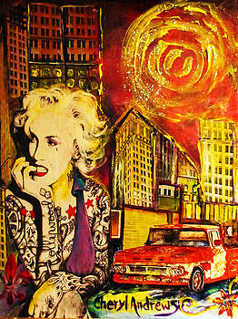 Modern Day Marilyn Trucks and Tattoo's by Cheryl Andrews