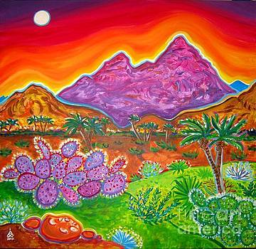 Moon Valley View by Rachel Houseman