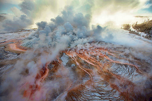More Than A Third Of Yellowstone Sits by Michael Nichols