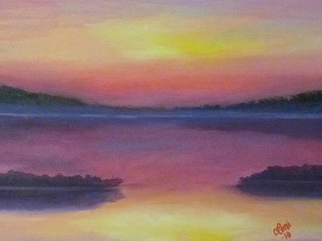 Morning Mist by Elaan Yefchak