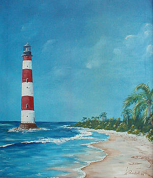 Morris Island Lighthouse  by Randall Brewer
