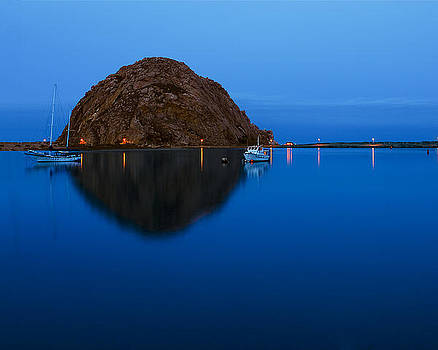 Morro Bay Calm Morning by Terry Garvin