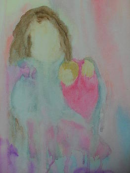 Mother And Baby Abstract by Ginny Youngblood