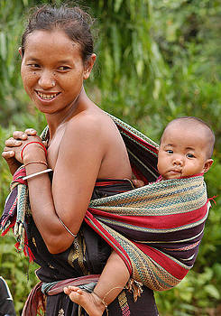 Mother and Child by Samsul Huda Patgiri