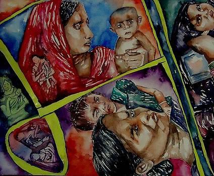 Mother's Love  by Abhrodeep Mukherjee