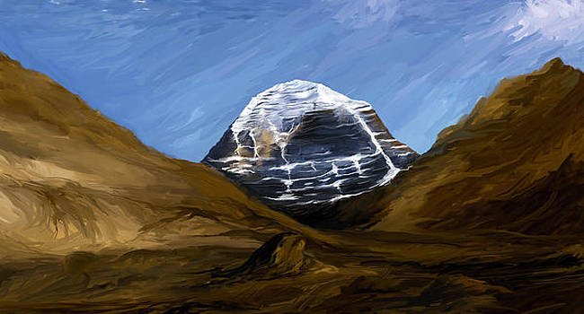 Mount Kailash by Anand Purohit