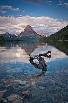 Mount Sinopah at Sunset by Craig Brown