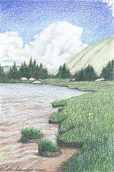 Mountain Lake in the Tobacco Roots by Ceilon Aspensen
