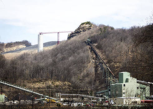 Mountaintop Removal Operation by Teresa Wissen
