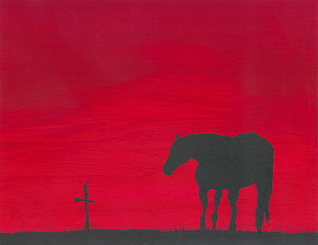 Mourning Horse by Sarah Glass