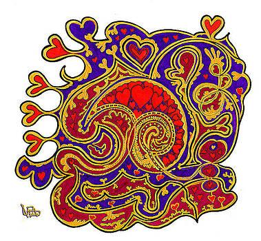 My Darling's Valentine by Loren Adams