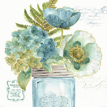 My Greenhouse Bouquet Iii by Lisa Audit