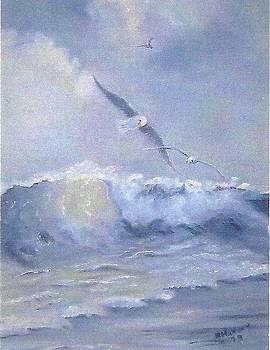 My Seascape by Ruthann  Hanson