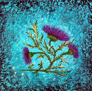 My Thistle by Fay Reid