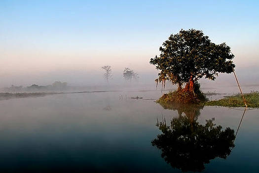 Mystical Majuli Island by Samsul Huda Patgiri
