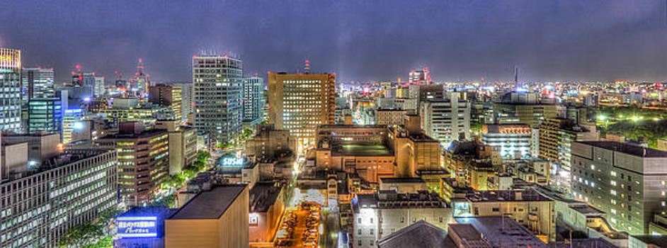 Nagoya Skyline by John Zocco