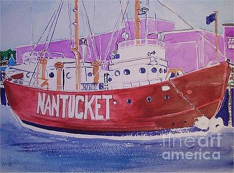 Nantucket Lightship by Catherine Worthley