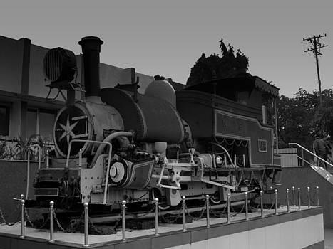 Narrow Gauge Steam Locomotive by Salman Ravish