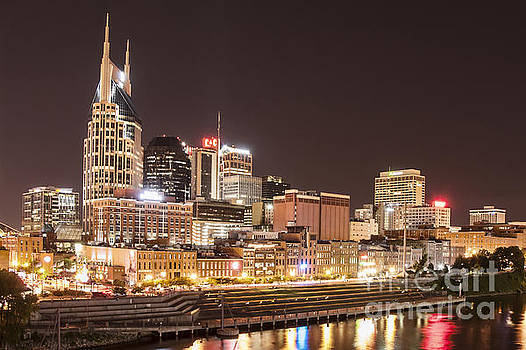 Nashville Skyline by Ricky Smith